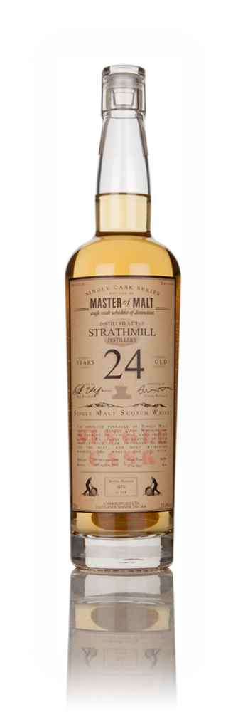 Strathmill 24 Year Old 1990 - Single Cask (Master of Malt)