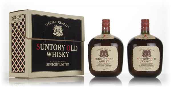 Suntory Old Whisky Gift Set - 1970s