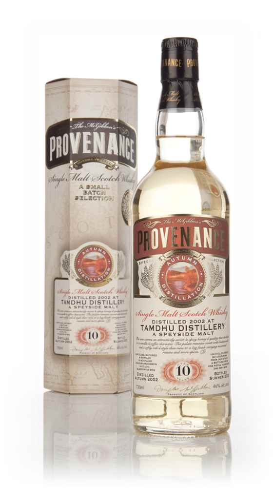 Tamdhu 10 Year Old 2002 (cask 9616) - Provenance (Douglas Laing)