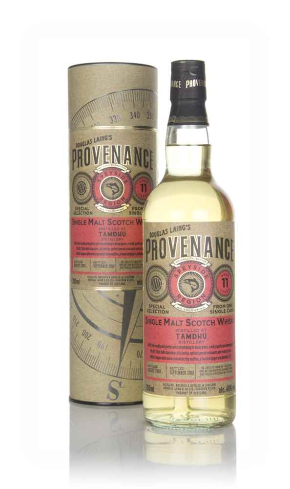 Tamdhu 11 Year Old 2007 (cask 12766) - Provenance (Douglas Laing)