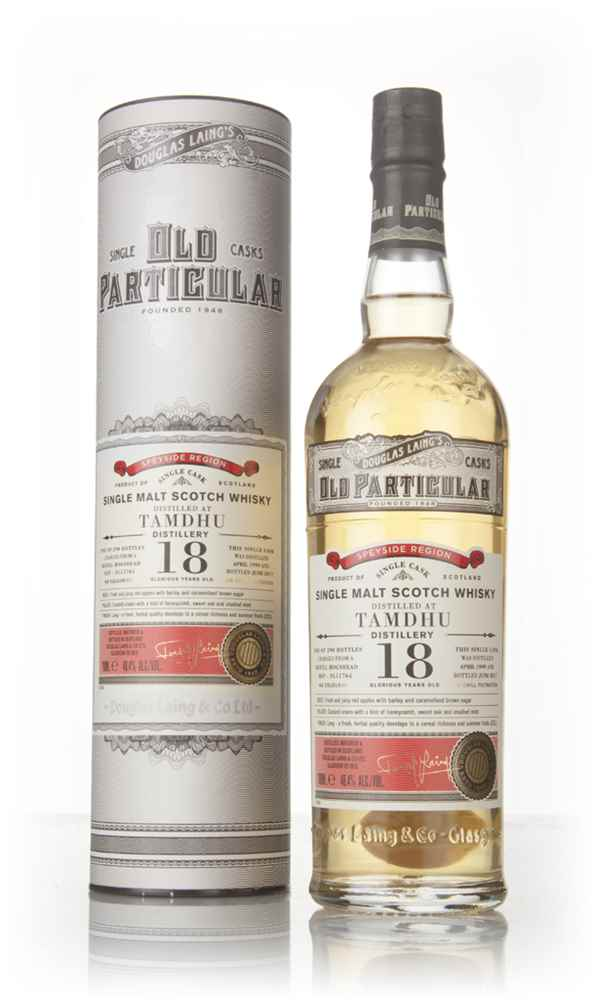 Tamdhu 18 Year Old 1999 (cask 11764) - Old Particular (Douglas Laing)