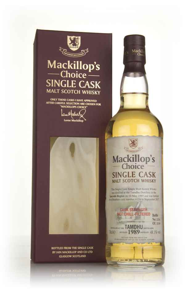 Tamdhu 28 Year Old 1989 (cask 4126) - Mackillop's Choice