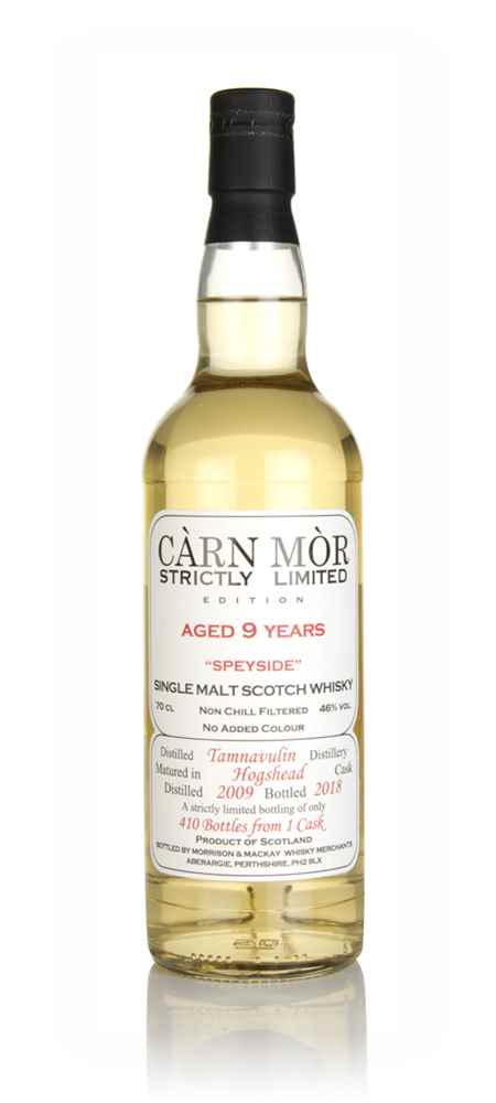 Tamnavulin 9 Year Old 2009 - Strictly Limited (Càrn Mòr)