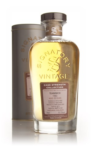 Teaninich 25 Year Old 1983 - Cask Strength Collection (Signatory)