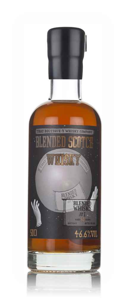 Blended Whisky #1 50 Year Old - Batch 5 (That Boutique-y Whisky Company)