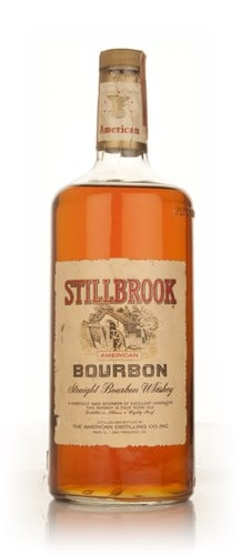 Stillbrook 4 Year Old American Straight Bourbon Whiskey 1.2l - 1960s