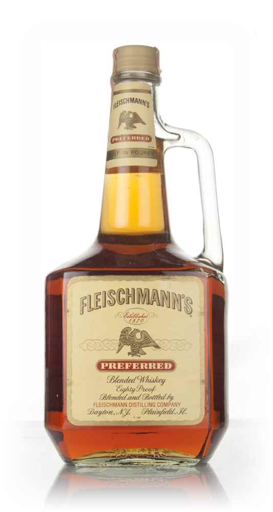 Fleischmann's Preferred - 1980