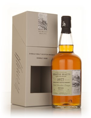 Dark Chocolate Orange 1977 - Wemyss Malts (Glenlivet)
