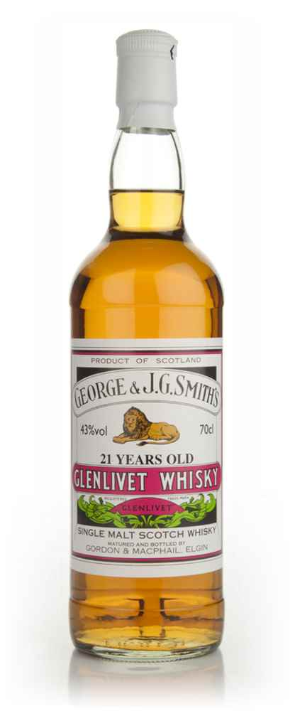 Smith's Glenlivet 21 Year Old - Gordon & MacPhail