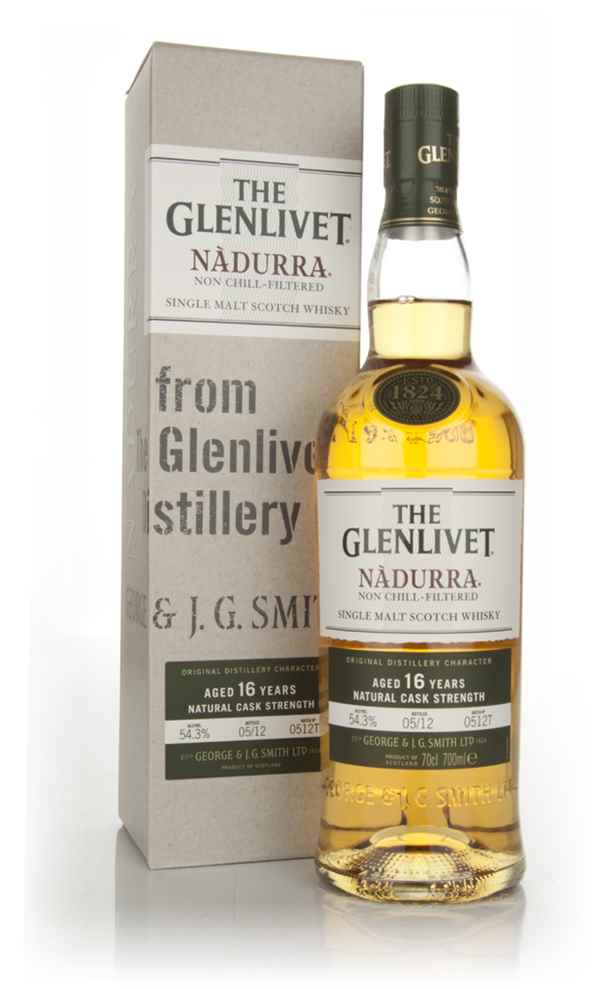 The Glenlivet 16 Year Old Nàdurra Batch 0512T