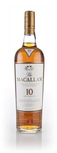Macallan 10 Year Fine Oak Whisky 70cl : Buy Cheap Price Online UK