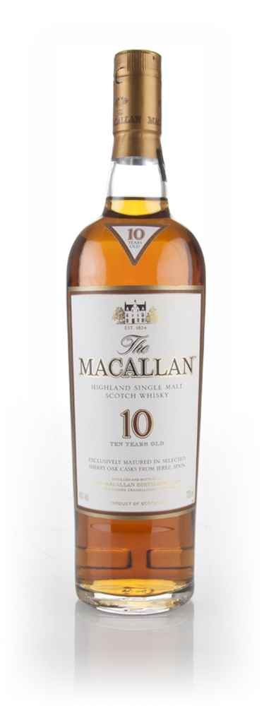 The Macallan 10 Year Old Sherry Oak