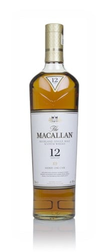 Amazon.com: Macallan 12 Year Old Highland Single Malt Scotch 750ml ...