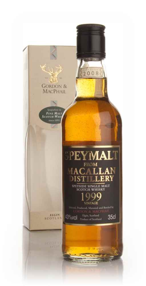 Macallan 1999 - Speymalt (Gordon and MacPhail) 35cl