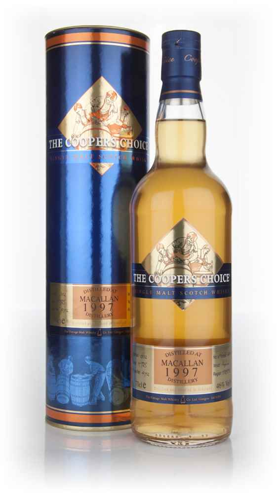 Macallan 15 Year Old 1997 - The Coopers Choice (The Vintage Malt Whisky Co.)