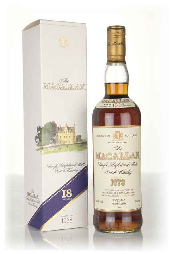 The Macallan 18 Year Old 1978