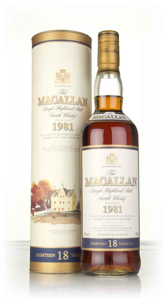 The Macallan 18 Year Old 1981