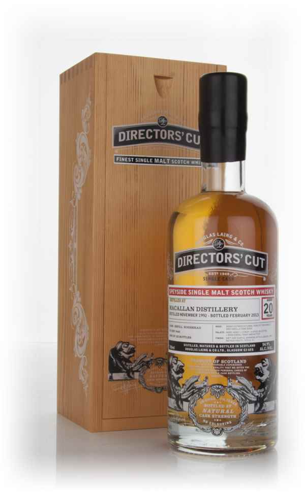 The Macallan 20 Year Old 1992 (cask 9449) - Directors' Cut (Douglas Laing)