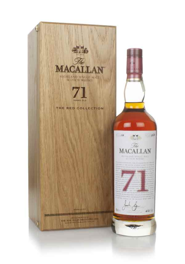 The Macallan 71 Year Old - The Red Collection