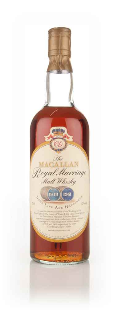The Macallan Royal Marriage - 1981