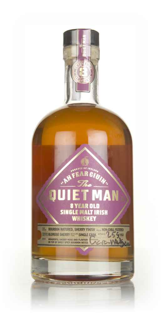 The Quiet Man 8 Year Old - Oloroso Sherry Cask Finish