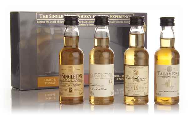 The Single Malt Whisky Flavour Experience 4x5cl