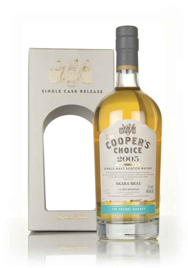 Skara Brae 12 Year Old 2005 (cask 27) - The Cooper's Choice (The Vintage Malt Whisky Co.).