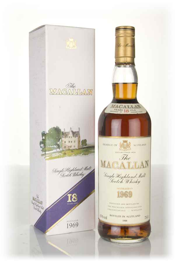 The Macallan 18 Year Old 1969