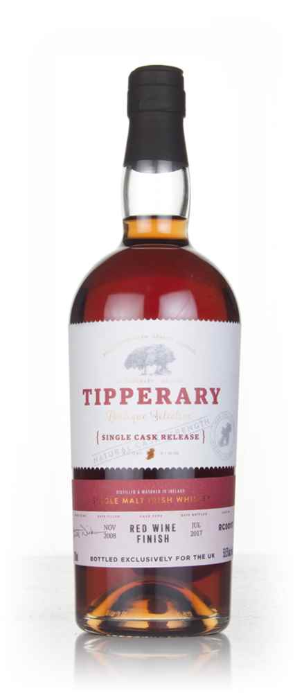 Tipperary 8 Year Old 2008 (cask RC00117) - Red Wine Cask Finish