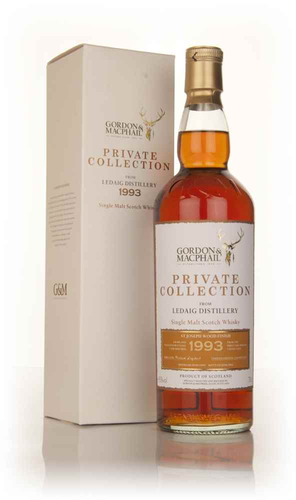 Ledaig 1993 St Joseph Wood Finish - Private Collection (Gordon & MacPhail)