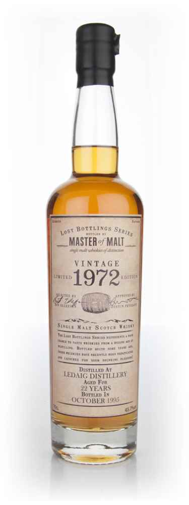 Ledaig 22 Year Old 1972 - Lost Bottlings Series (Master of Malt)