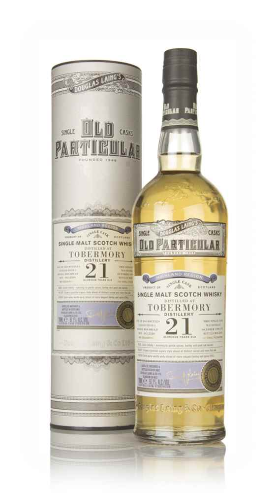 Tobermory 21 Year Old 1996 (cask 12580) - Old Particular (Douglas Laing)
