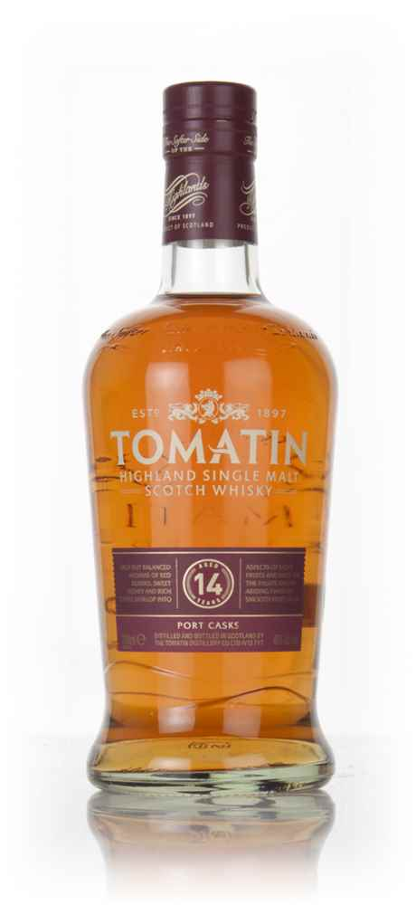 Tomatin 14 Year Old Port Wood Finish