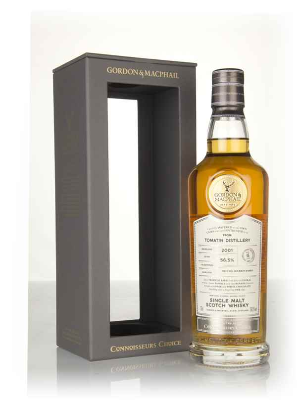 Tomatin 16 Year Old 2001 (cask 18/040) - Connoisseurs Choice (Gordon & MacPhail)