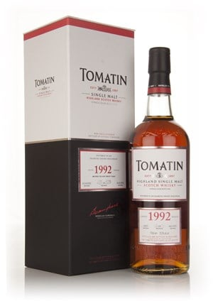 Tomatin 1992 Oloroso Sherry Hogshead Matured