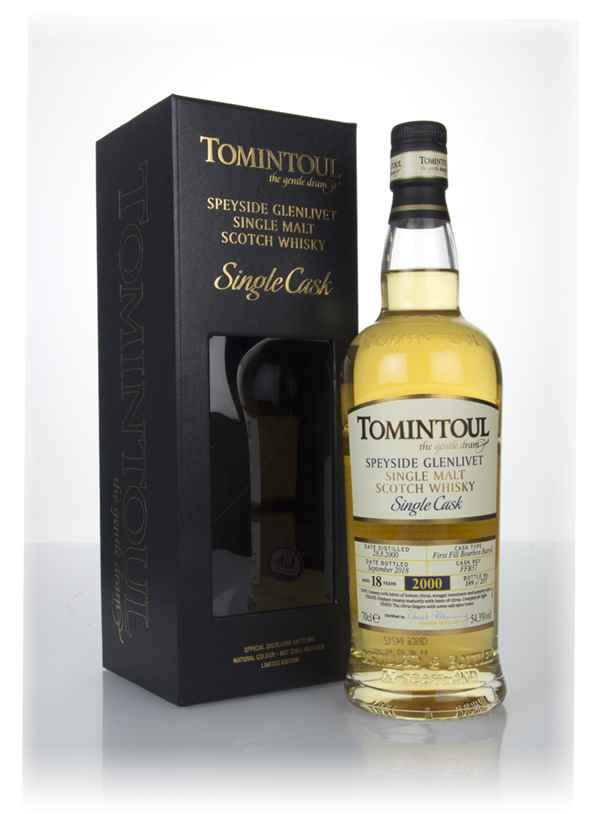 Tomintoul 18 Year Old Bourbon Cask #37
