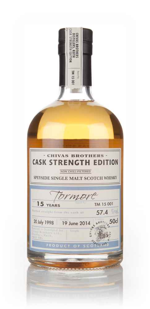 Tormore 15 Year Old 1998 - Cask Strength Edition (Chivas Brothers)
