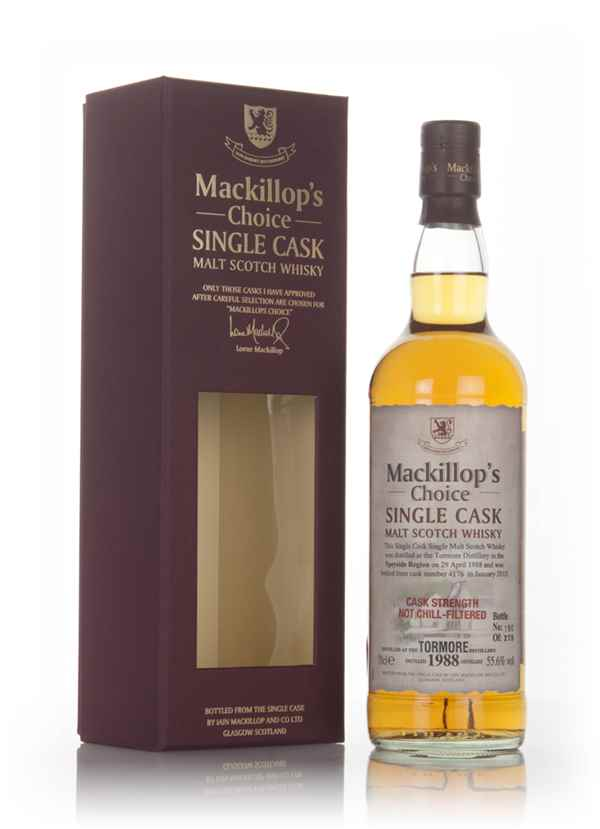 Tormore 26 Year Old 1988 (cask 4176) - Mackillop's Choice