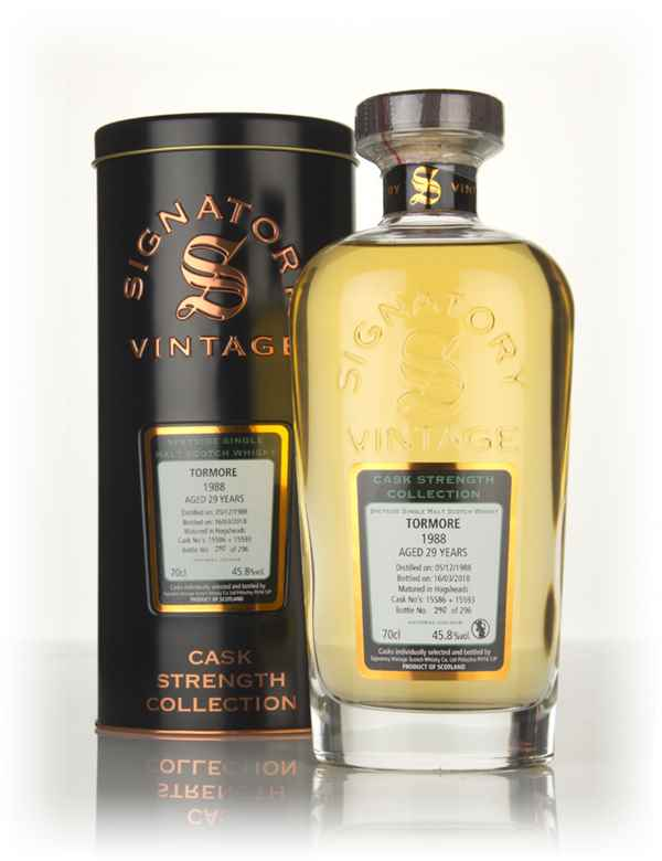 Tormore 29 Year Old 1988 (casks 15586 & 15593) - Cask Strength Collection (Signatory)