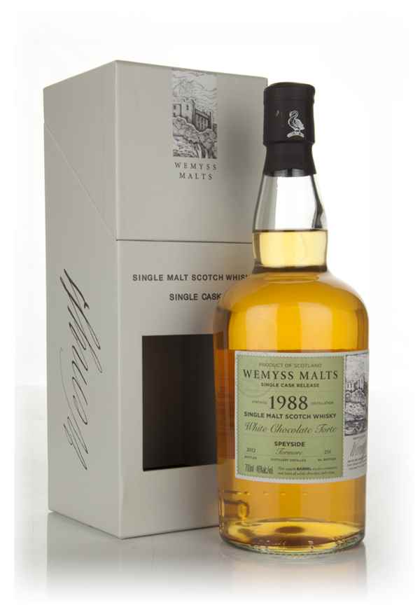 White Chocolate Torte 1988 - Wemyss Malts (Tormore)