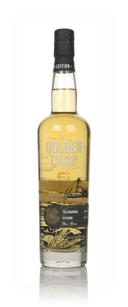 Tullibardine 10 Year Old 2007 (cask CM243) - The Golden Cask (House of Macduff)
