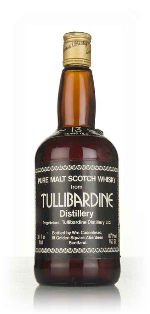 Tullibardine 13 Year Old 1965 (WM Cadenhead)