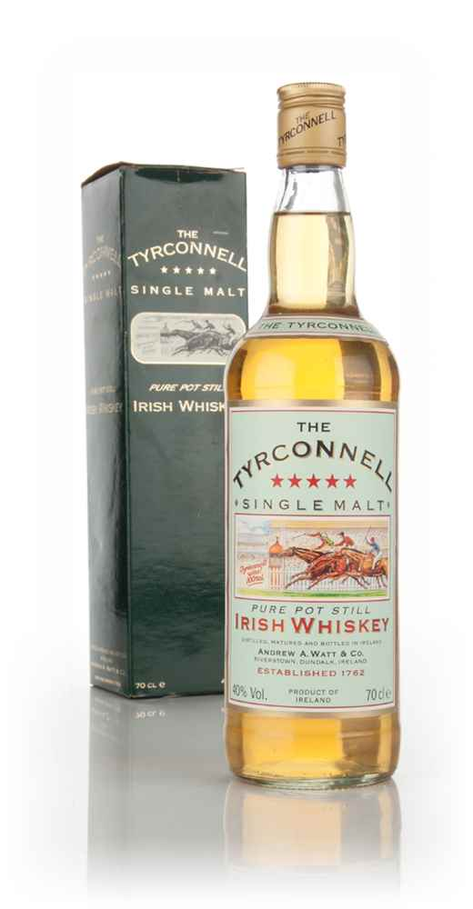 Tyrconnell Irish Whiskey - late 1980s/early 1990s