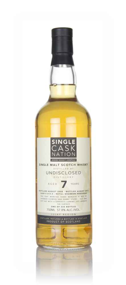 Undisclosed Islay 7 Year Old 2008 (Single Cask Nation)