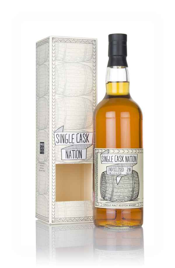 Undisclosed Speyside 28 Year Old 1989 (Single Cask Nation)
