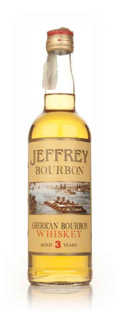 Jeffrey 3 Year Old Kentucky Bourbon - 1980s