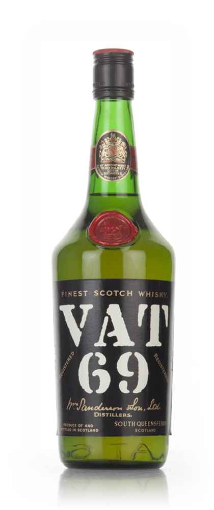 VAT 69 Blended Scotch Whisky - 1970s