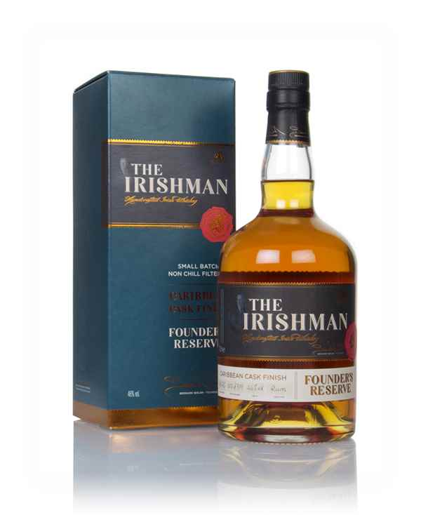 The Irishman Founder's Reserve Caribbean Cask Finish