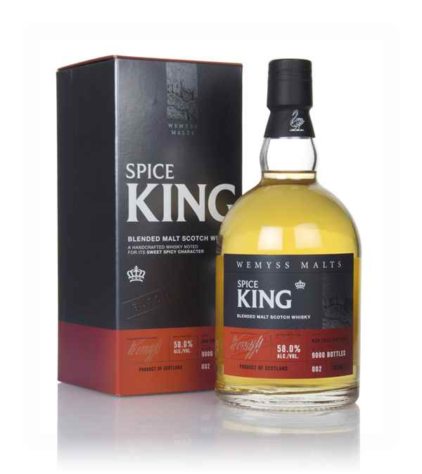 Spice King Batch Strength 002 (Wemyss Malts)