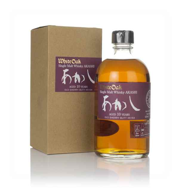 White Oak Akashi Single Malt 10 Year Old